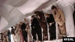 Коридор чоловіків у катакомбах Монастиря капуцинів