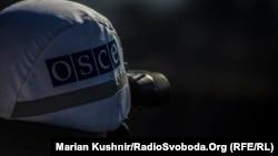 Представник місії ОБСЄ в Україні поблизу Золотого, 21 жовтня 2016 року