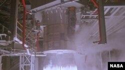 Ресейлік РД-1801 зымыран қозғалтқышы (Көрнекі сурет).