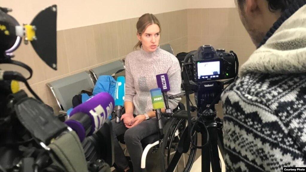 Мария Комиссарова в суде