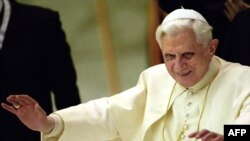 Pope Benedict (file photo)