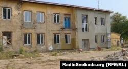 Недобудований гуртожиток для переселенців у Слов'янську