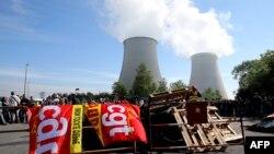 Демонстранти блокують доступ до однієї з АЕС, 26 травня 2016 року