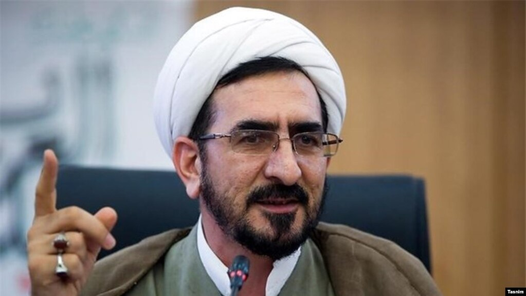 Ali Mozaffari, head of the Islamic Republic of Iran's Judiciary in Khorasan Razavi province. Undated
