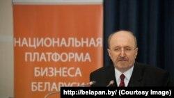Уладзімір Карагін, старшыня Менскага сталічнага зьвязу прадпрымальнікаў і працадаўцаў