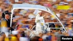 Papa Franjo u Italiji