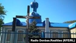 Непрацюючий Свято-Преображенський собор УПЦ КП у Донецьку