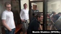 Обвинувачені в справі про організацію «Новое величие» в суді (Сергія Гаврилова серед них немає)