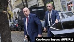 Иван Гешев пристига за заседанието на ВСС