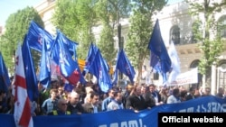 Georgian union representatives complain of harassment and intimidation by government officials.