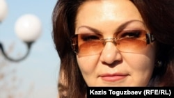 Дарига Назарбаева, дочь президента Нурсултана Назарбаева. Алматы, 11 ноября 2011 года.