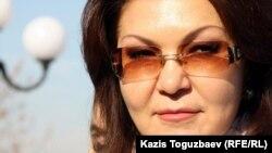 Қазақстан президентінің қызы, парламент депутаты Дариға Назарбаева. Алматы, 11 қараша 2011 жыл.