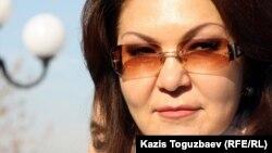 """Дарига Назарбаева, дочь президента Казахстана и депутат мажилиса парламента от партии """"Нур Отан""""."""