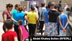 نازحون مسيحيون في إقليم كردستان