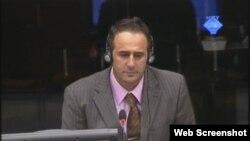 Ibro Osmanović na suđenju Ratku Mladiću, 21. rujan 2012.