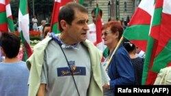 Lideri politik i grupit separatist bask Eta, Josu Ternera