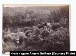 Володимир Олійник під час заслання