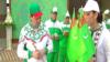 Türkmen emeldarlary dynç alyşda sport maşklaryny ýerine ýetirdiler, aralarynda prezident görünmedi
