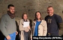 Зліва-направо: Пьотр Армяновский, Аня На, Валерія Космідайло, Сергій Вікарчук
