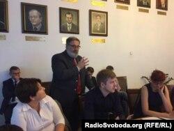 Кшиштоф Становський, екс-міністр іноземних справ Польщі, екс-голова Фонду Міжнародної Солідарності (Варшава)