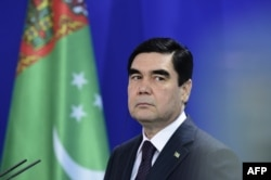 Current Turkmen President Gurbanguly Berdymukhamedov (file photo)