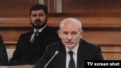 Рөстәм Хәмитов Русия дәүләт шурасы утырышында