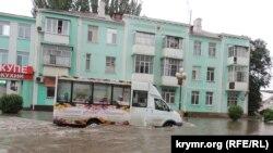 Последствия ливня в Керчи, июнь 2018 года