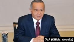 Узбекистанскиот претседател Ислам Каримов