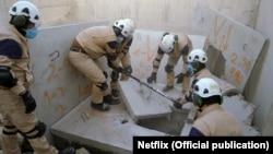 """Добровольцы организации """"Белые каски"""" в Сирии"""