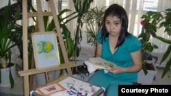 """Айнур Канатбаева, одна из участниц творческой группы """"Тумар"""". Фото из личного архива."""