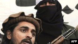 Pakistan Taliban commander Hakimullah Mehsud in 2008