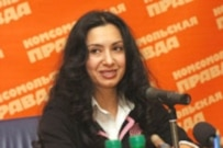 Nodira Hidoyatova, an imprisoned colleague of Sanjar Umarov (courtesy photo)