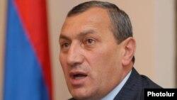 Armenia - Syunik Governor Suren Khachatrian.