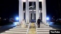 звадок од контроверзниот спот за песната Империја на Влатко Лозановски и Есма Реџепова, македонски кандидат за Евровизија.