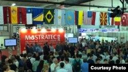 Mostratec халықаралық олимпиадасына қатысушылар. Ново-Гамбурго, Бразилия, 22-27 қазан 2012 жыл.