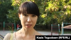 Жительница Алматы Лилия Хан. Август 2013 года.