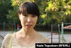 Алматы тұрғыны Лилия Хан. 18 тамыз 2013 жыл.