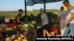 Продаж продукції з фермерського господарства в Сакському районі Криму. Архівне фото
