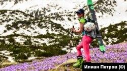 На 16 май Ани Манова е в долината на река Бъндерица, в подножието на връх Вихрен