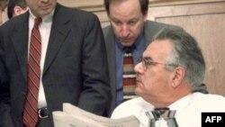 بارنی فرانک، رييس کميسيون خدمات مالی مجلس نمايندگان آمريکا، (عکس از AFP)