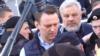 Алексея Навального вывели с митинга против сноса домов в Москве
