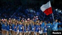 Avropa Oyunlarının açılış mərasimi.