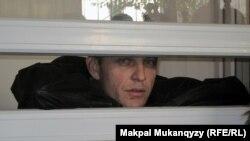 Александр Паленый сот залында. Алматы, 26 қазан 2010 жыл.