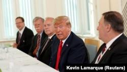 АҚШ президенті Дональд Трамп Финляндияда. 16 шілде, 2018 жыл.
