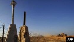 границата меѓу Египет и Израел