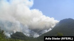 Požari na Ruištu kod Mostara, avgust 2012.