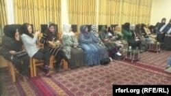 آرشیف، شماری از زنان در یک نشست در ولایت جوزجان