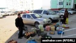Ashgabadda bazar