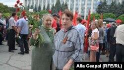 24 august - Marș și depunere de flori la Chișinău