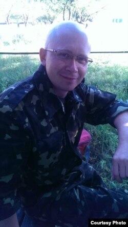 Доброволец Алексей Гиренко